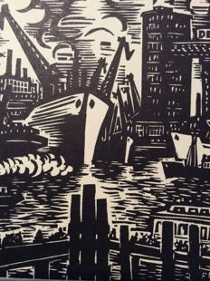 20 prints by Frans Masereel (1889 - 1972) -  Untitled