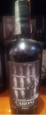 Caroni 1983 22 Old Years Heavy Trinidad Rum 52%