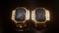 Christian Dior - 18kt gold plated Earrings  - Vintage