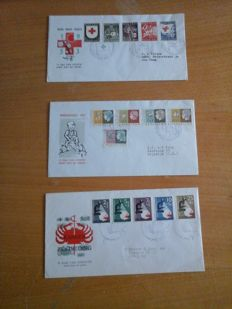 Netherlands 1953/1976 - Collection of FDCs