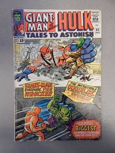 Marvel Comics - Tales of Astonish #63 - with second appearance of Leader - 1x sc - (1965)