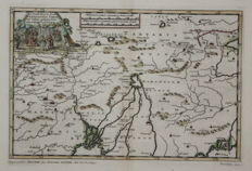 Asia, India; Pieter van der Aa  - De Land-Reyse, door Benedictus Goes - 1710