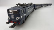 Lima H0 - 149720 - Four-piece set with electric locomotive 1300 and 3 carriages Plan E