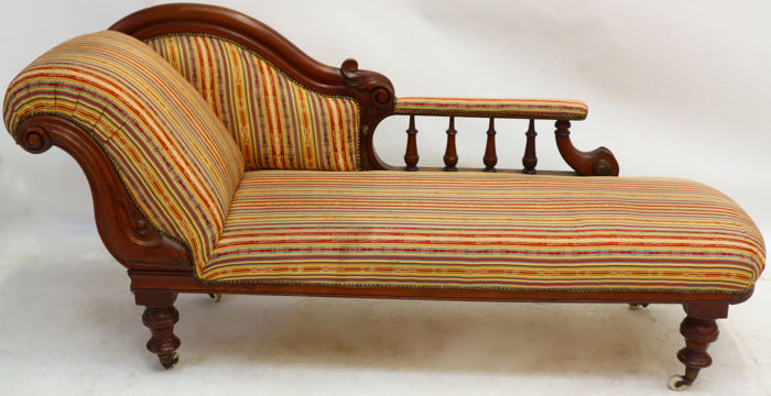 Mahogany Victorian chaise longue - English - ca. 1860 - Catawiki on victorian candles, victorian mother's day, victorian rocking chair, victorian chest, victorian wheelchair, victorian couch, victorian club chair, victorian loveseat, victorian recliner, victorian credenza, victorian nursing chair, victorian chaise lounge, victorian chaise furniture, victorian sideboard, victorian urns, victorian folding chair, victorian era chaise, victorian office chair, victorian country, victorian tables,