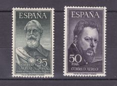 Spain, 1953 - Legazpi and Sorolla - Edifil 1124/1125.