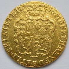 United Kingdom - Guinea 1786 George III - gold
