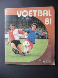 Panini - Voetbal 81 - Complete album - In very good condition
