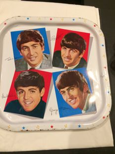 Vintage Beatles Tray made in England by Worcester in the 70's