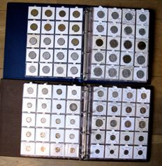 France - Sol up to 100 Francs 1788/1998 (490 different) including 39 x silver in 2 albums