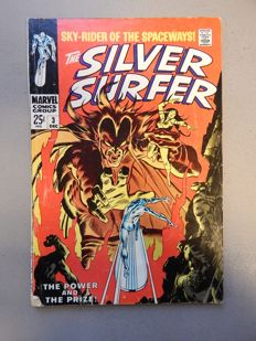 Marvel Comics - Silver Surfer #3 - With 1st Appearance of Mephisto - 1x sc - (1968)