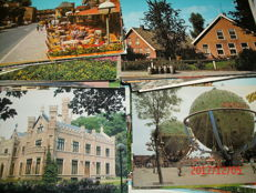 Lot with 600 postcards of The Netherlands, all blank, from the 60s-90s