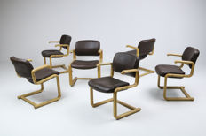 Rud Thygesen and Johnny Sørensen for Magnus Olesen/Botium - set of 6 chairs