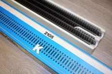 Märklin H0 - 2105/2205 - 10x Flexibele K-rails 900 mm