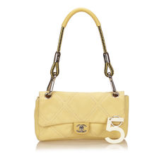Chanel - Canvas Flap Bag CC Turnlock