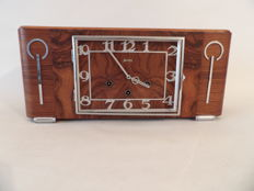 Junghans - Art Deco mantle clock with Westminster chimes
