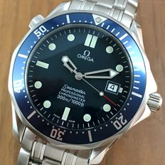 Omega James Bond Blue Seamaster 300m Like New 41mm Men´s Automatic Watch