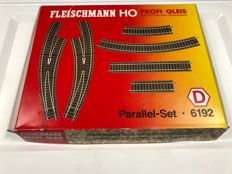 Fleischmann H0 - 6192 Parallel-Set D profi rails