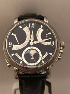 Maurice Lacroix - Masterpiece Lune Retrograde Manual Wind - mp7078-ss001-320 - Heren - 2017