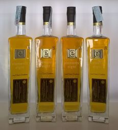 Elements Eight Small Batch Distillation Gold Rum from Saint Lucia - 4 bottles
