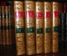 John Marshall - Vie de George Washington - 5 volumes - 1807