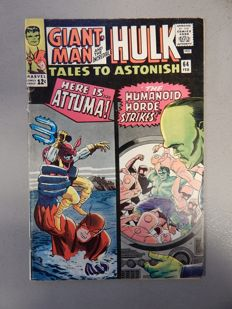 Marvel Comics - Tales of Astonish #64 - with The Incredible Hulk - 1x sc - (1965)