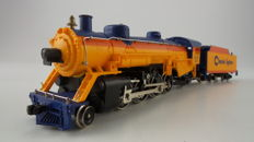 Mehano H0 - M9354 - Steam locomotive with tender - Steam locomotive with tender 2-8-2 - Chessie System