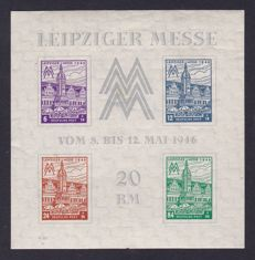 GDR of East Germany 1940s/1960s - composition of various blocks and combinations