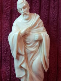 St. Joseph - ivory sculpture - Germany - late 19th century / early 20th century