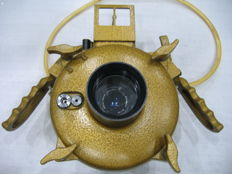 EXA 1a with underwater camera housing