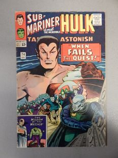 Marvel Comics - Tales of Astonish #74 - with Submariner stories - 1x sc - (1965)