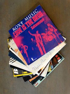 """Love is the drug""! Bryan Ferry and Roxy Music collection of 21 twenty-one (21) singles"