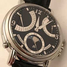 Maurice Lacroix - Masterpiece Lune Retrograde Manual Wind - mp7078-ss001-320  - Homme - 2018