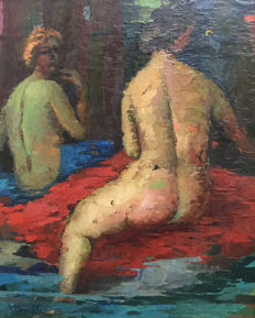 Unknown artist (20th century) - Odalisques