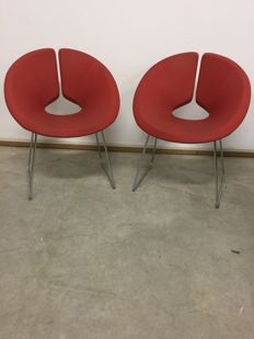 Patrick Norguet for Artifort - set of 2 Little Apollo chairs