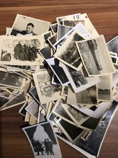 WW II Original Third Reich lot of 150 photos of family and the German Wehrmacht 3/150