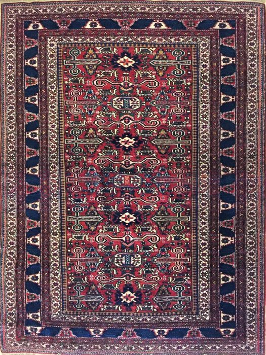Antique Shirvan Perepedil from Azerbaijan, 210 x 156 cm