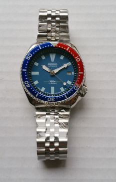Seiko Vintage Pepsi Submariner 42mm from 1990