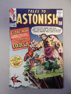 Marvel Comics - Tales of Astonish #58 - with 1st app of Colossus - 1x sc - (1964)