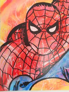 Freda People art - Amazing Spiderman