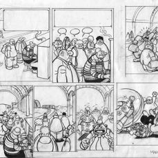 Retera, Mark - Original double strip (published) - Dirkjan