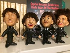 The Beatles : 4 Beatles Remco Dolls from 1964