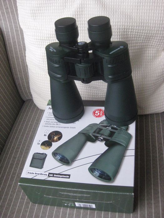 Very nice Bresser Binoculars 8x60 Color Green