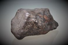 Meteorite - NWA - oriented - Regmaglypts and nice crust of fusion - 6.8 x 3.2 x 3 - 133 g