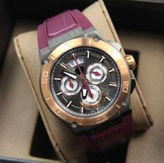 Savoy Metropolitan Men's - Swiss Made - Chronograph Stainless Steel Watch - New & Perfect condition