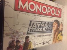 Monopoly Game sealed Signed by Kevin Smith