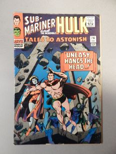 Marvel Comics - Tales of Astonish #76 - with Submariner stories - 1x sc - (1966)