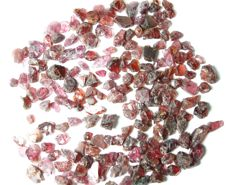 Large lot of rough rhodolite garnet - 100gr - 500ct (144)
