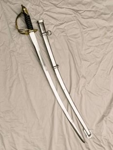 Beautiful replica saber used during the Napoleon war