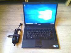 Dell E5500 business notebook - Intel Dualcore 1.66Ghz CPU, 2GB RAM, 120GB HDD, Windows 10 - with charger