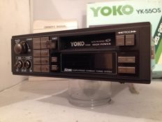 New classic Yoko YK-550s classic car radio from the 80s/90s Volkswagen/Ford/Opel/Mercedes/Peugot/Renault - ETC.    (New)